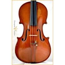 Коллин Мезин снимает скрипку